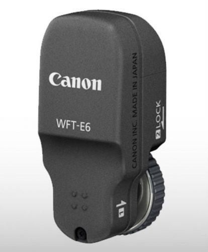 Canon WFT E6 Image