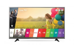 TV 4K 55p LG avec Support roulette Image