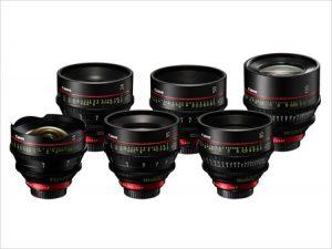 Valise Objectifs série Canon CN-E Image
