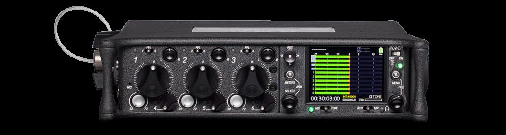 Kits audio Reportage avec Sound Device 633 Image