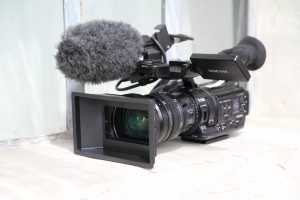 3X camera XDCAM